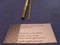 Brass, Round Telescopic Tube